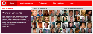 Vodafone's World Of Difference (Screenshot)