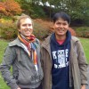 Nueng and Ian, Edinburgh, Nov 2010