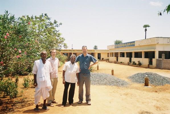 School at dusk, (Tom Grellier) India, 2007