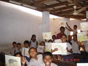 Drawing Lesson, Kerala, 2010 (Stan Higgit)