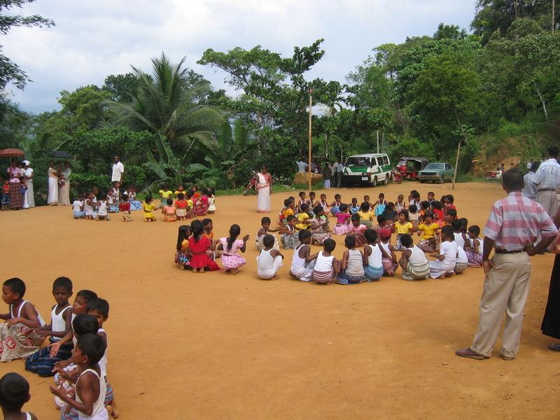 Amy Gibson, Netball Match, Sri Lanka, 2007