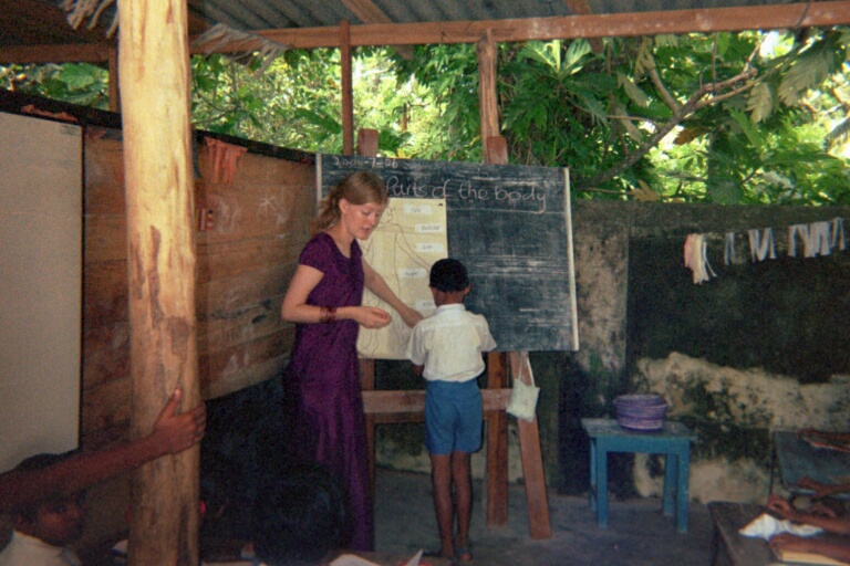 Phillippa Burrows, Sri Lanka, 2006