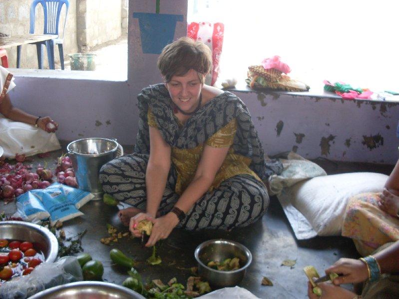 Lucy Johnston & Kathryn Tharby, Andhra Pradesh, 2009