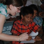 'Teaching' (Elizabeth Benson), India 2008