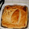 Chestnut and Mushroom Pie with a Map of Sri Lanka