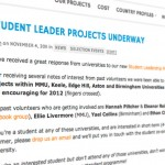 student-lead-projects