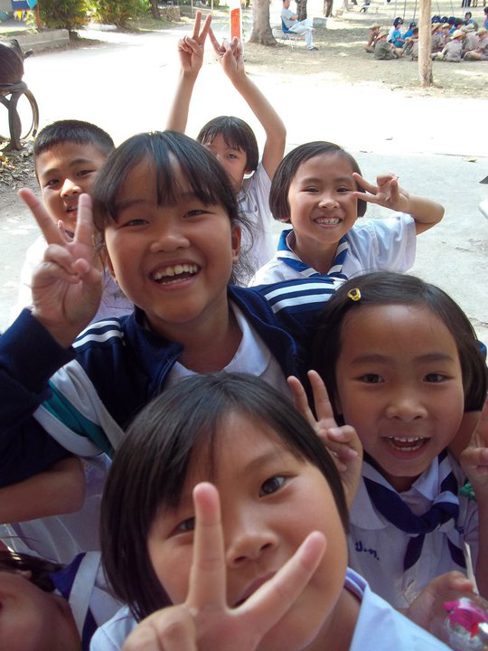 Kids 'star', Thailand, 2011 (by Hannah Pilcher)