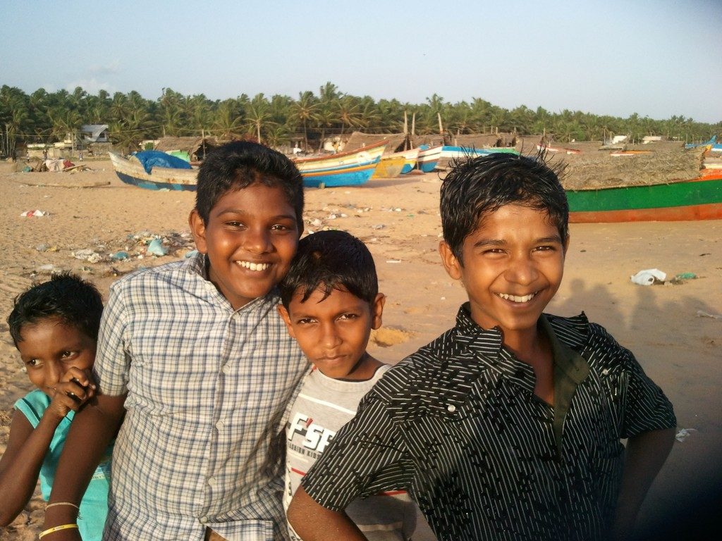 Happy Faces, Kerala, 2011 (Elaine Abili / Kath McGuire)
