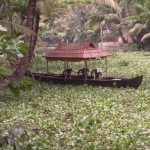 Keralan backwaters by canoe