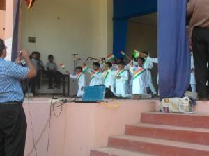 Primary School Students dancing to Jai Ho