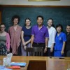 2012 Student Leaders with the Country Manager - Nueng
