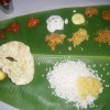 Traditional Kerelan meal; Sadhya