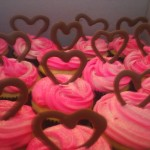 Heart Cupcake for your Valentine
