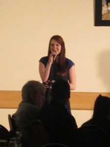 Kirsty's speech at the event