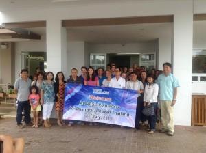 Arrival of Team 2 of volunteers in Thailand