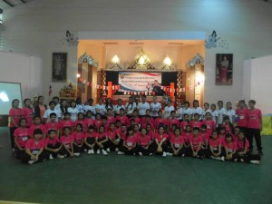 2012 EIS Camp (VESL Volunteers in white)