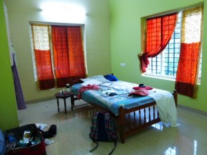 Pauline's bedroom in her host family