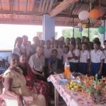 Bob with his 7A students