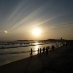 Sunset in Kovalam